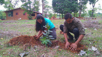 "Vipin plant a tree and adopt it in the name ""SuraBhairavi"""